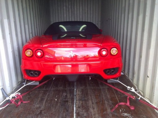 Ferrari UK to Australia - Ocean Freight Forwarder